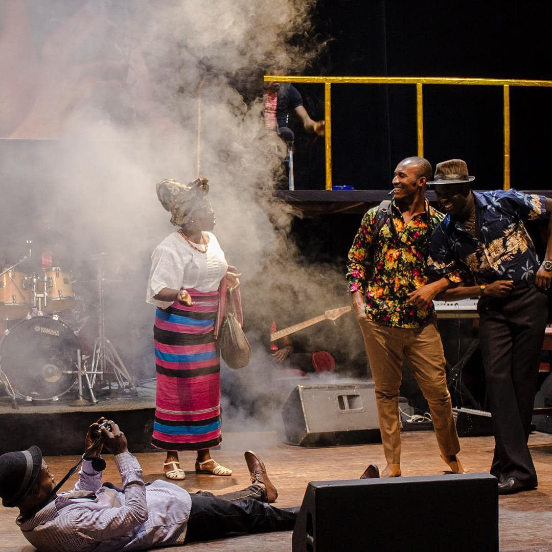 Performance of Paul Ugbede's Fela: Arrest The Music!