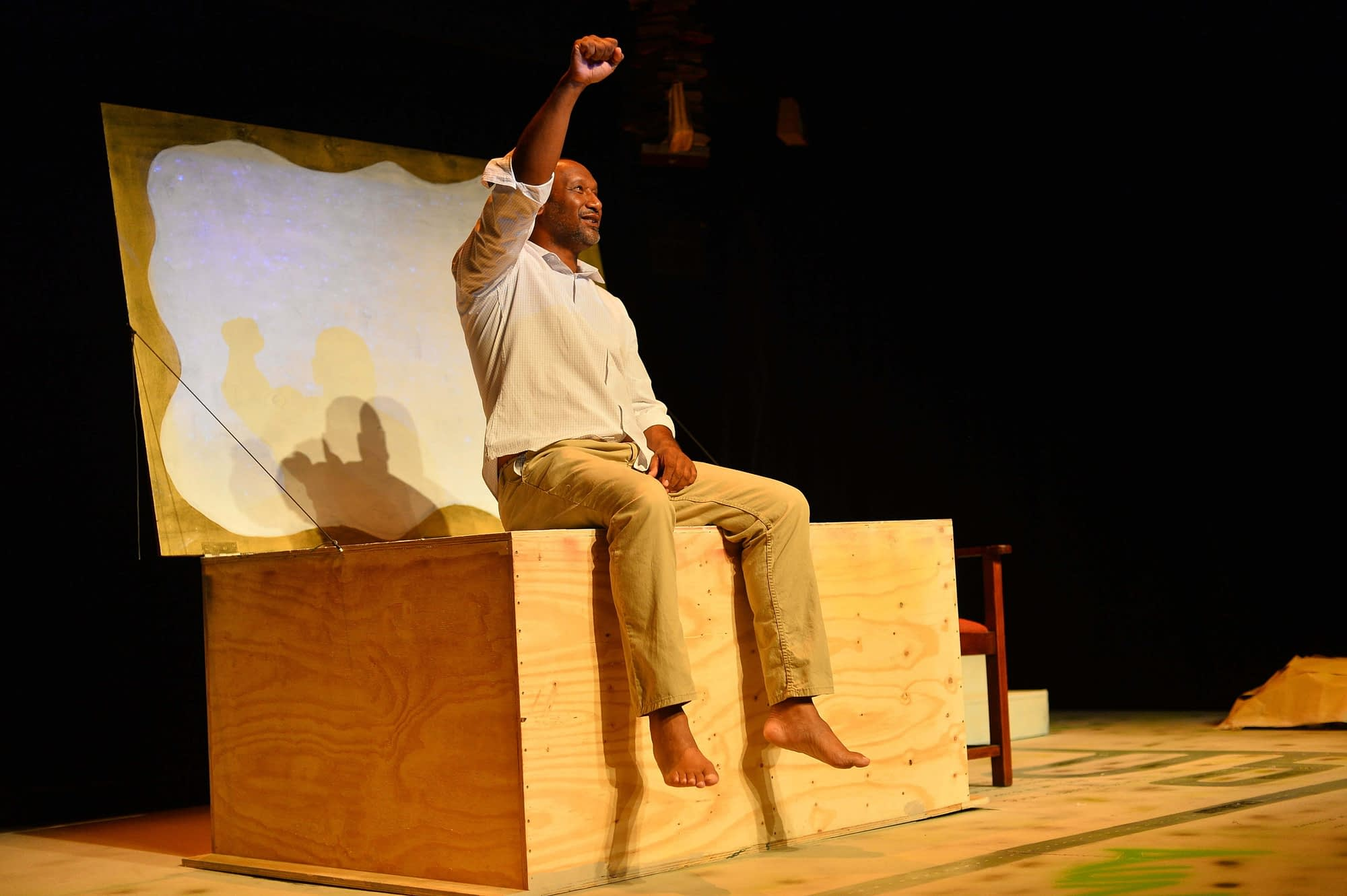 Van Wyk, The Storyteller of Riverlea directed by Christo Davids