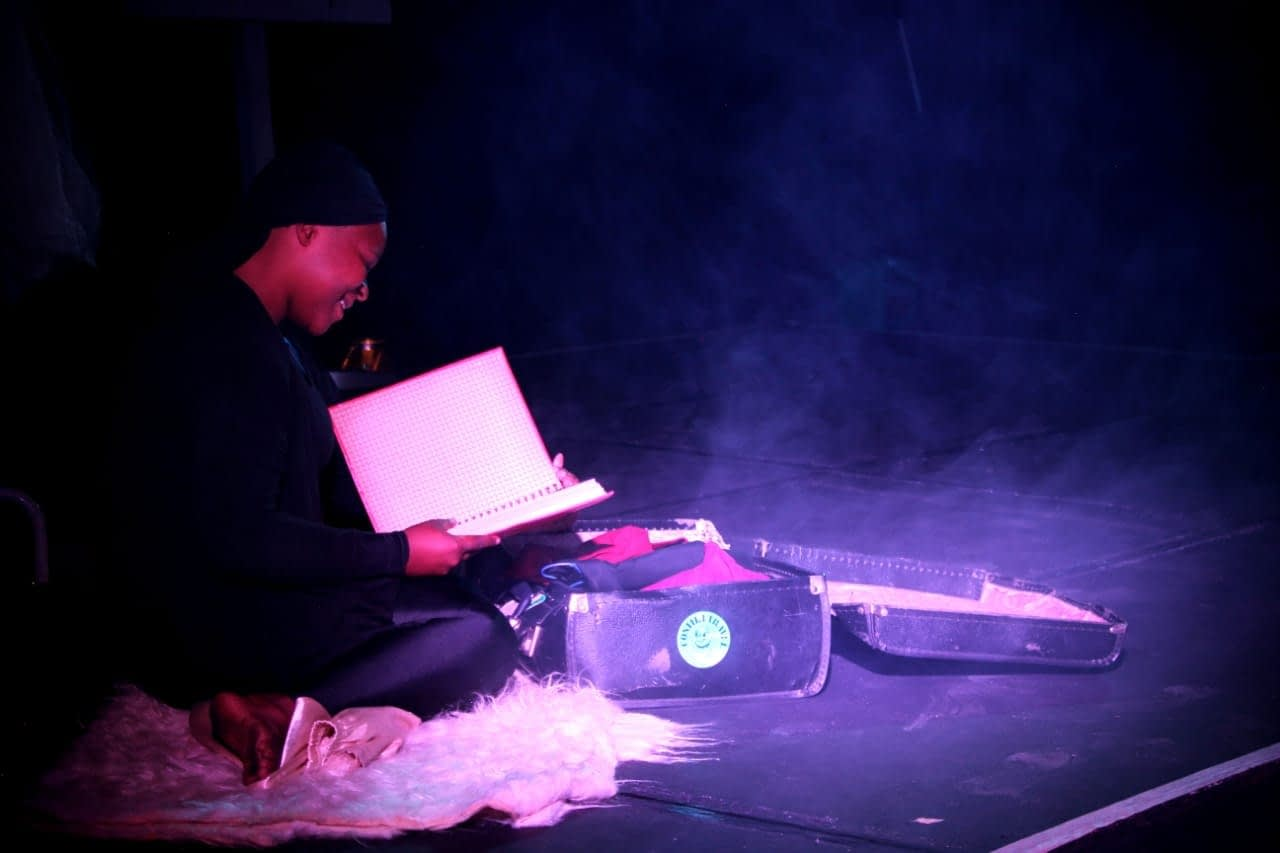 'Locked Heart' at Alexandra Theatre Academy's inaugural Current Affairs Theatre Festival (photo by Daniel Mogale)