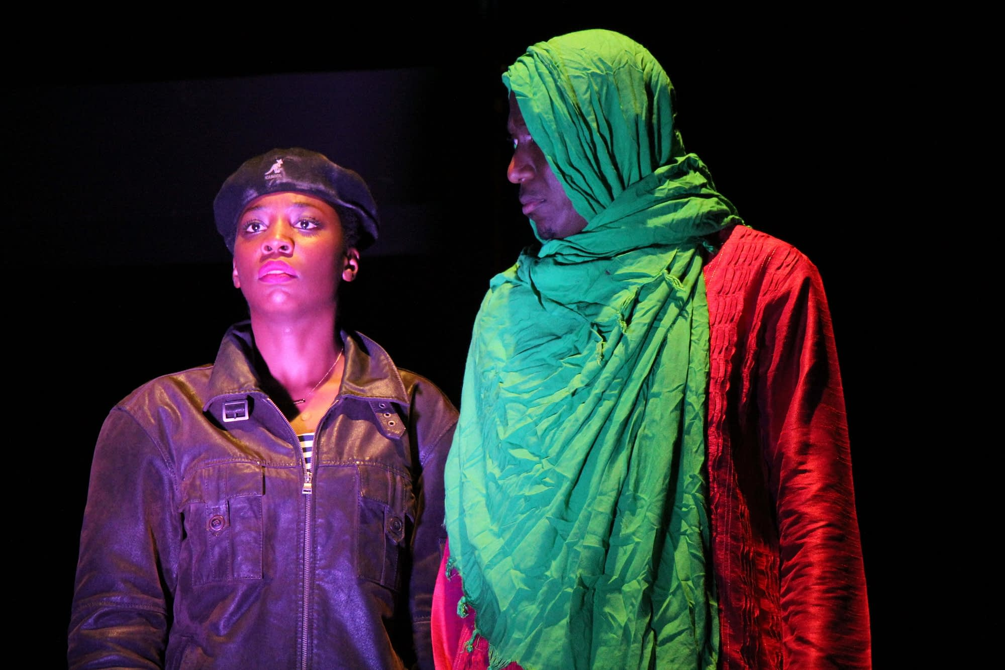 Mugisha and Malaika in Green Chilli