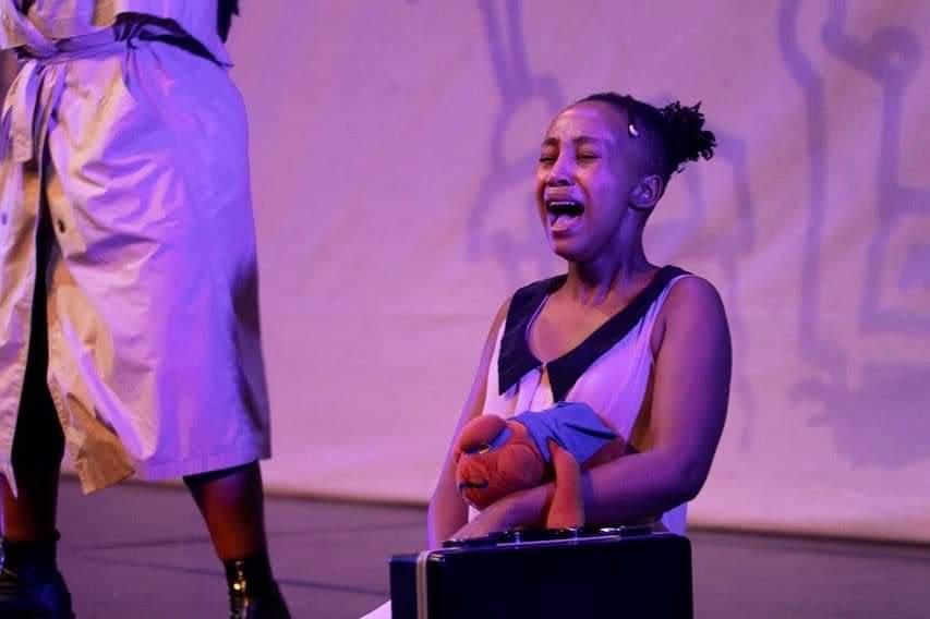 Kwasha! Theatre Company's Peeling Shadows at the Market Theatre (Photos by Hoek Serathlwale)