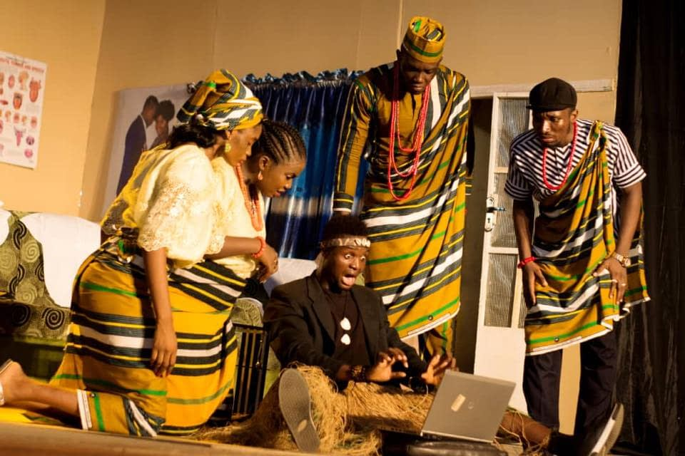 Our Son the Minister Performed by Lagos State University
