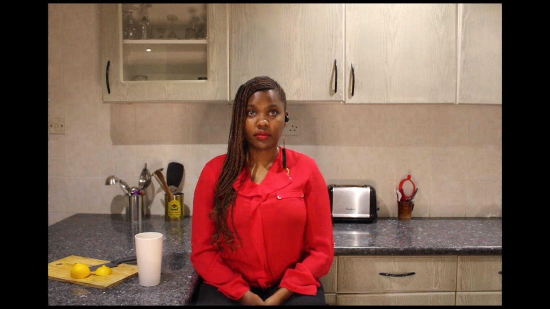 Anne Moraa in Cucu directed by Kholoud Sawaf/SRĐA and Nyokabi Macharia as part Theatre for One