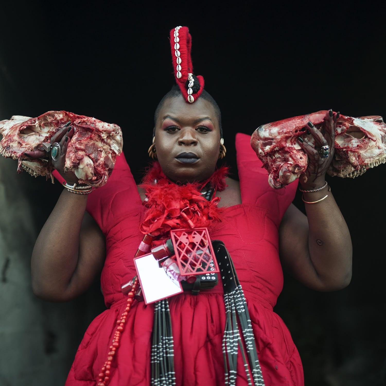 The Red Femicycle featuring Ibokwe Khoza, Oupa Sibeko, Lerato Matolodi and Musa Zwane (Mlungisi Mlungwana)