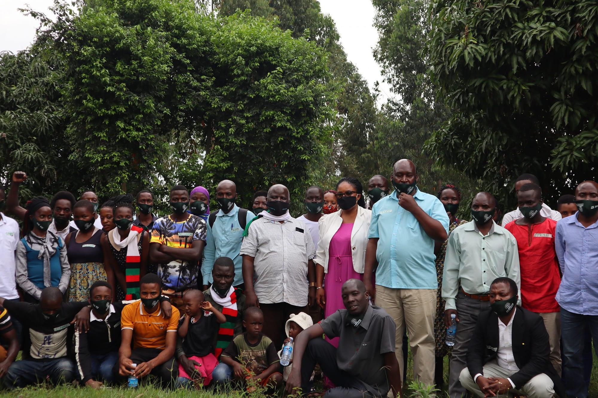 Makerere University community theatre participants at Kirimya in Masaka, Uganda (Cleodelia Nanjuba)