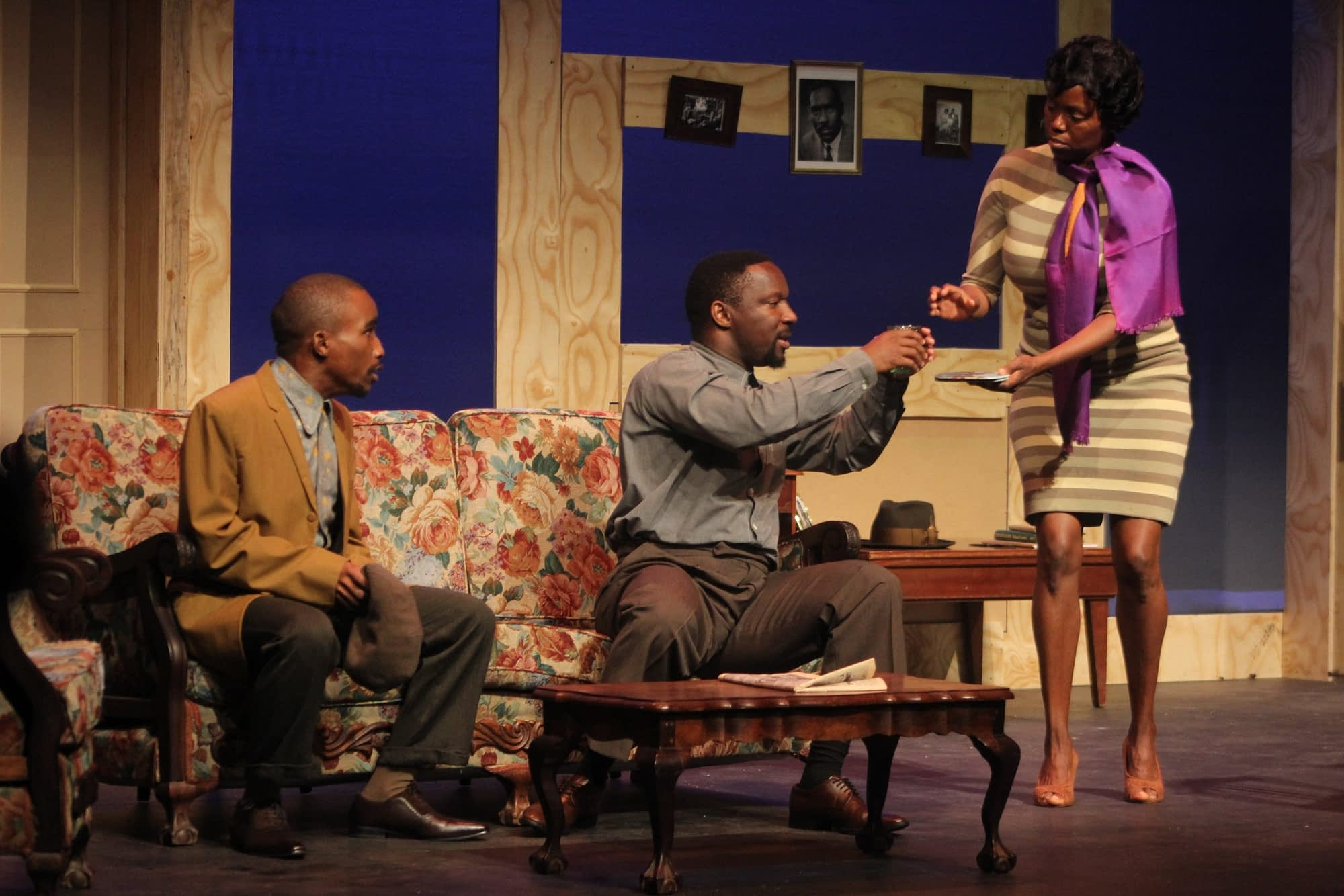 A Raisin In The Sun was part of the City of Johannesburg's Arts Alive programme and Heritage Month celebrations (photos by Tumi Moloi)