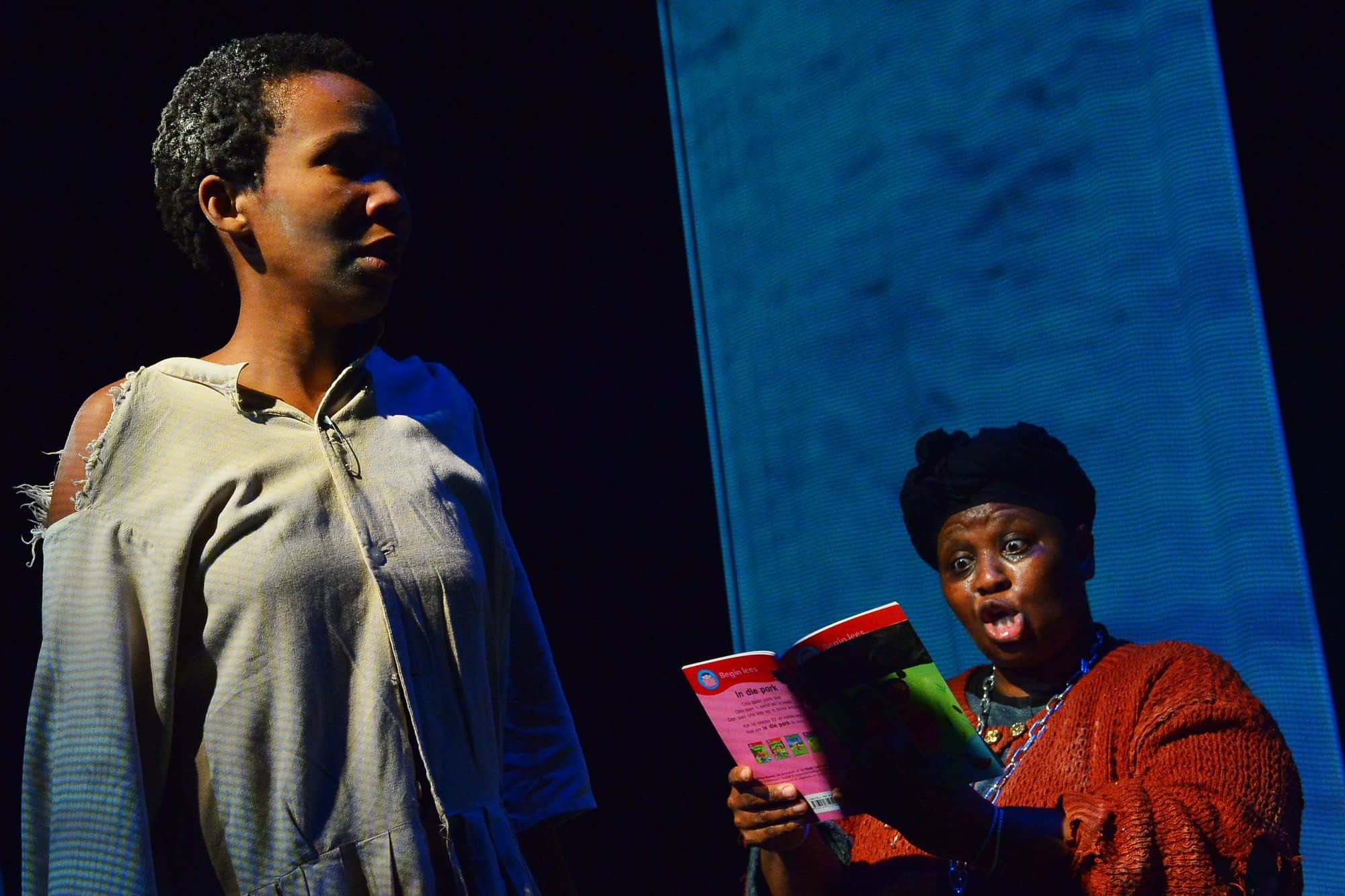 Xova written and directed by Joseph Kumani at the Market Theatre (Photos by Lungelo Mbulwana)