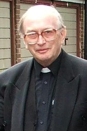 Rev. Fr Damian Grimes the then Head teacher of Namasagali College