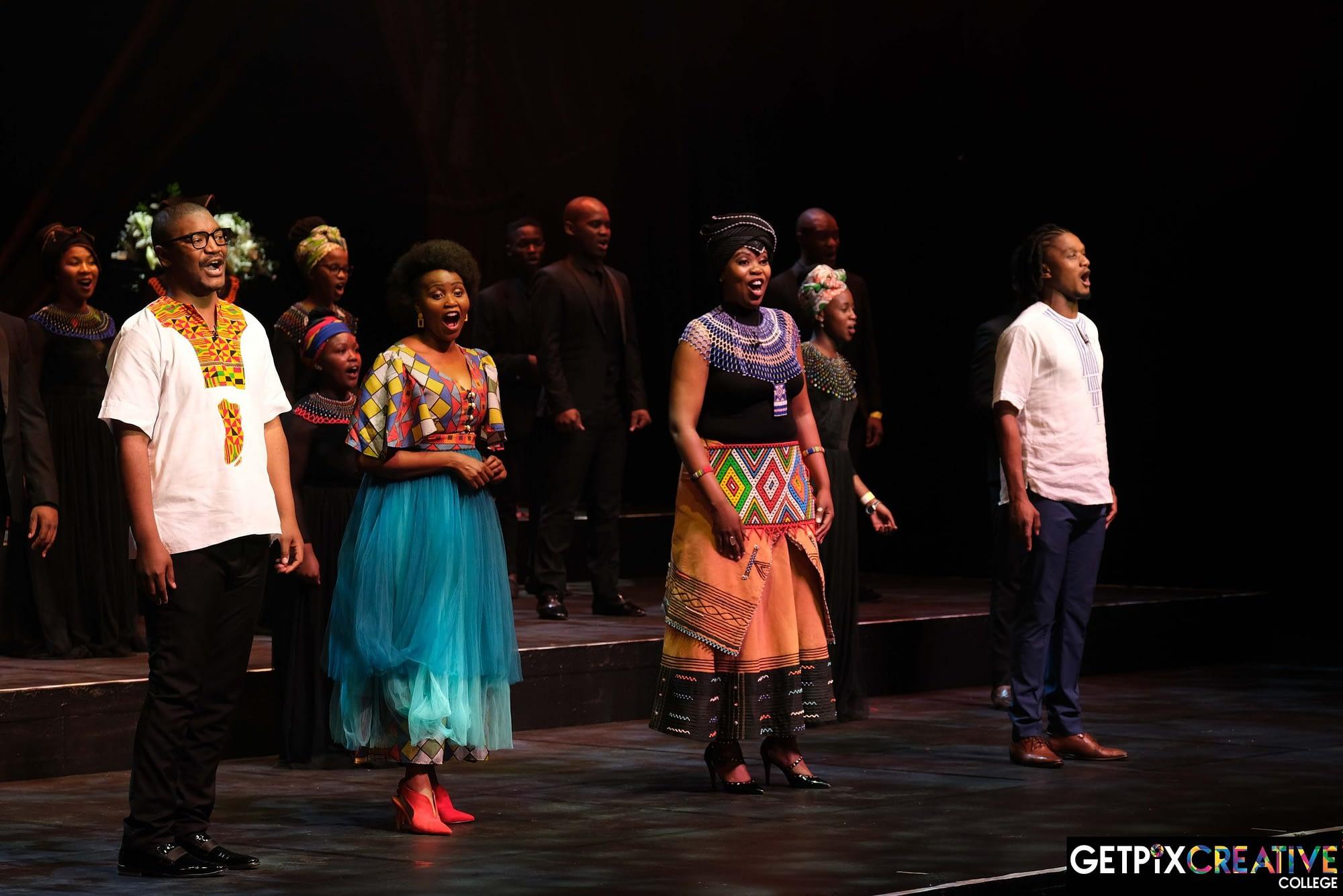 The principal singers in Cantiamo, Mzansi Opera Celebration at Joburg Theatre(Photos by