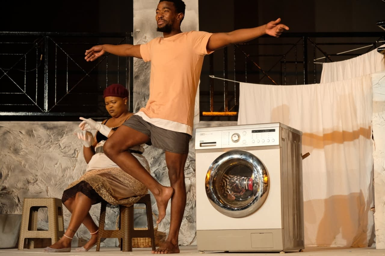 The Princesses of Askies Shem Street' was written and directed by Khutjo Green (Photos by Tin Town Theatre)