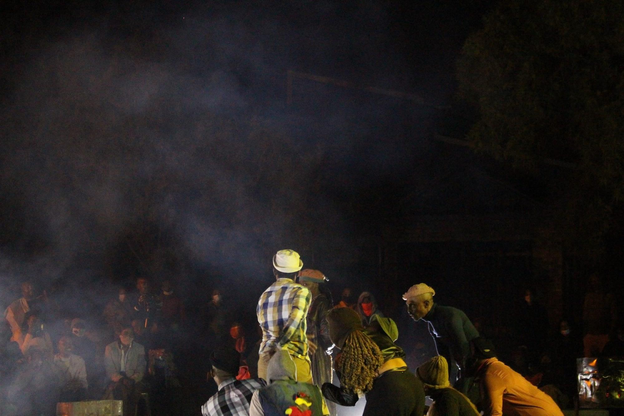 Kgafela oa Magogodi's Chilahaeboalae at Funda Community College (photos by Omphemetse Ramatlhatse)