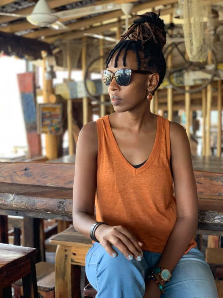 Hope Azeda, Director Mashirika Performing Arts and Media Company/ Founder and Curator Ubumuntu Arts Festival