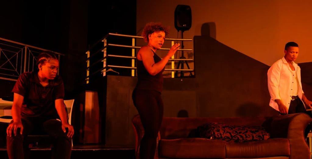 Paradox of Life at Tin Town Theatre (NPC) in Johannesburg. (Photos by Ronald Monnapule Kasebidile)