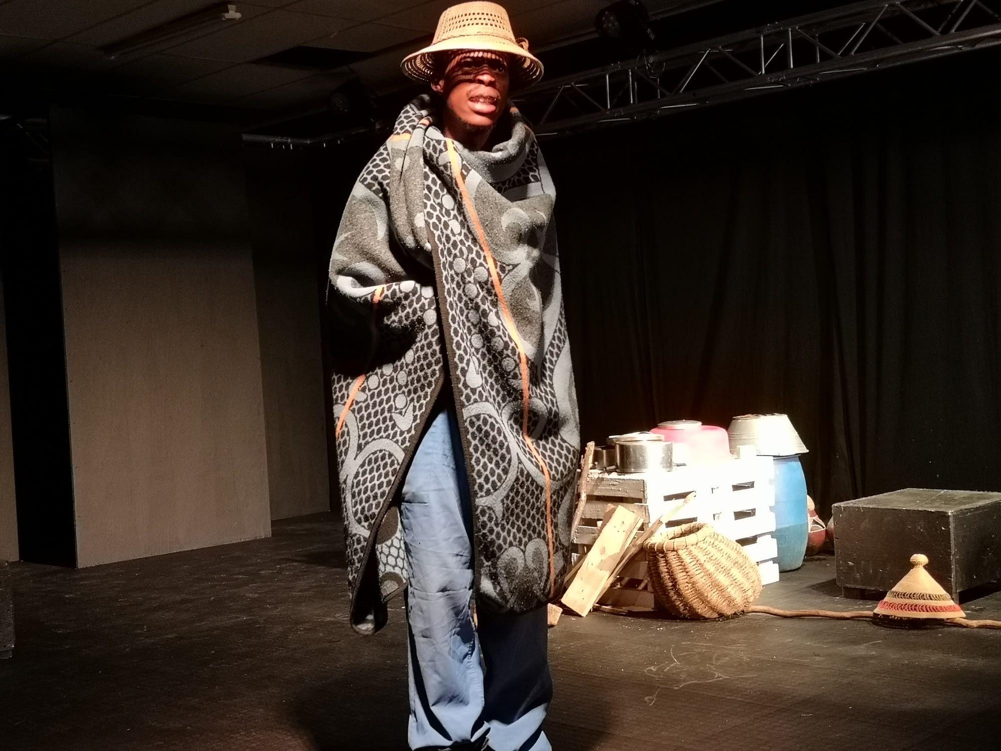 Lerumo featured Malaika Motshabi Ntsoeu, Malefu Mariti and Tankiso Sebabole as part of the Kuwamba Women's Theatre Festival at the TX Theatre in Tembisa (Sthembiso Radebe and Thokozani Maseko)