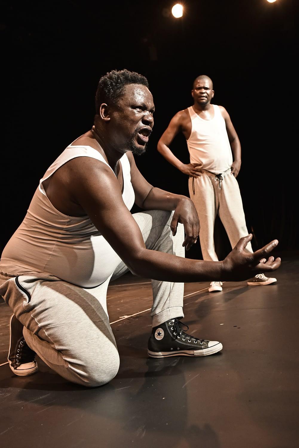 Vuka Machel featuring Mcendisi Shabangu and Xolile Gama at the Joburg Theatre (Photo by Mariola Biela)
