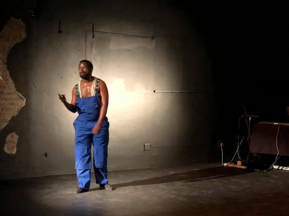 Darkie, written and performed by Katlego Letsholonyane