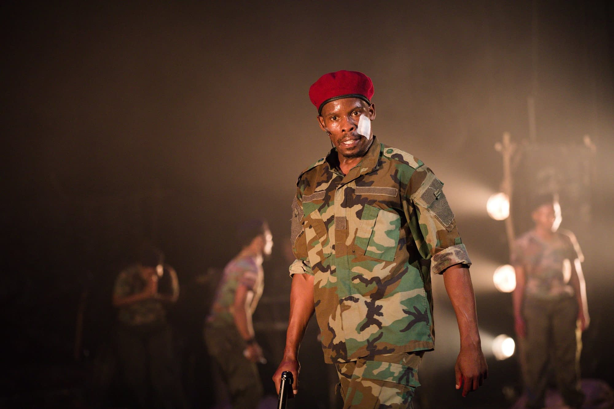 Angola Camp 13 written and directed by Sello Maseko at South African State Theatre (Photo by Itumeleng Khumisi)